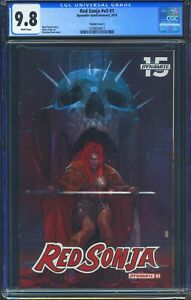Red-Sonja-1-Dynamite-CGC-9-8-White-Pages-Christian-Ward-Variant-cover