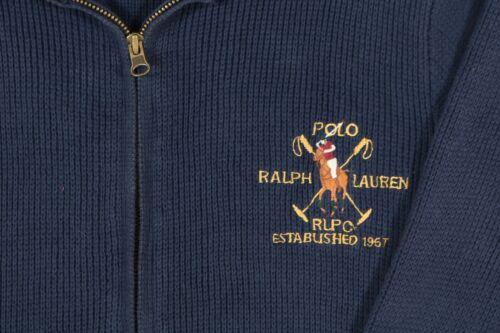 door Polo Ralph Jacket Vgc Knit Lauren gHqxFF5