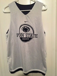 New Nike Penn State Nittany Lions Soccer Reversible Sleeveless Jersey Mens Xs Fan Apparel & Souvenirs Activewear Tops