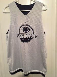 New Nike Penn State Nittany Lions Soccer Reversible Sleeveless Jersey Mens Xs Men's Clothing