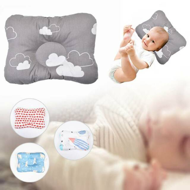 Newborn Infant Toddlers Sleeping Pillow Preventing Flat Head Practical Useful F
