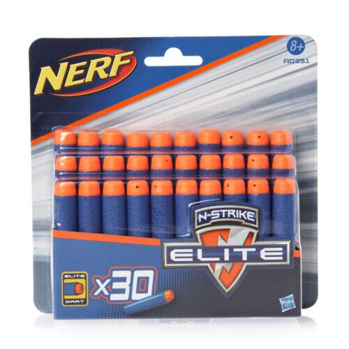 Nerf Darts N-Strike Blue Bullets Refill Pack Blasters Clip Soft Round Foam Elite