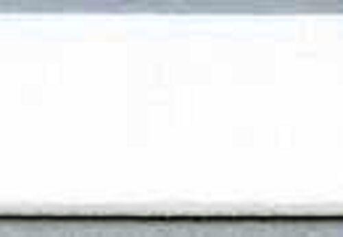 "Strapping Elastic WHITE Plush /& Satin Sides Bras /& Garters 3//4/""    2 Yds"