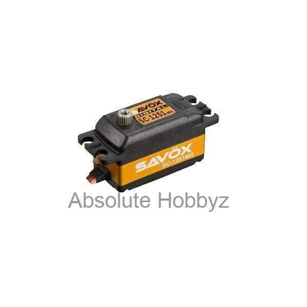 Savox Sc-1251mg Low Profile Digital Hi Speed Mg Servo-sav-sc-1251mg