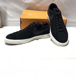 e4b3a687c5d Nike Blazer Shoe Low Black Black Sail  Lilac 371760 024 Men s Sz 9 ...