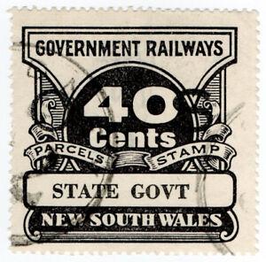 I-B-Australia-NSW-Railways-Parcel-Stamp-40c-State-Government-inv-wmk