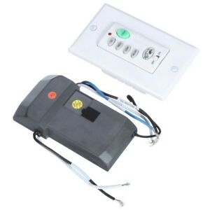 Ceiling Fan Wall Remote Control Wireless Or Wired Light Speed Switch Panel Kit 792145354369 Ebay