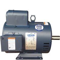 5 Hp Motor Eléctrico Leeson C184k17db31a Para Compresor Marco 184t 230v 1 Fase