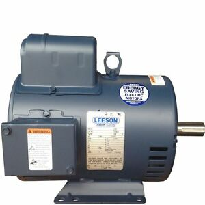 Details about New H/D Leeson Electric motor 131537 replaces Baldor on