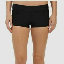 Speedo Women/'s PowerFLEX Eco Solid Boyshort Bikini Bottom 8401 Size Small