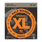 D'Addario EHR310 Half Rounds Steel Electric Guitar Strings 10-46 Regular Light