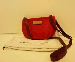 9cac79bd4616 MARC BY MARC JACOBS New Q - Percy  Leather Crossbody Bag Rosey Red ...