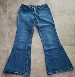 VINTAGE-70S-LEVI-039-S-BELL-BOTTOMS-SIZE-27