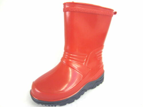 **SALE** Red Wellington Boots for toddlers infants unisex RED rubber X1230