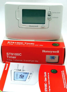 honeywell st9100c 7 day single channel time switch timer st9100c1006 rh ebay co uk User Guide Icon User Guide Icon