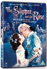 DVD:THE SLIPPER AND THE ROSE - NEW Region 2 UK