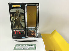 "custom star wars return of the jedi 12""  chewbacca box + inserts"