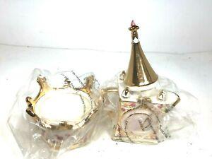 Disney Direct Cinderella Royal Dreams Castle Tea Set Teapot Creamer Sugar Lid 6P
