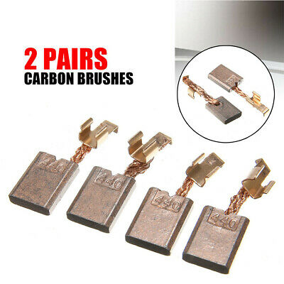 2Pairs CB-440 Carbon Brushes Replacement for Makita Electric Motor Power To SE