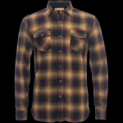 Nifty Genius Truman Flannel Shirt Med
