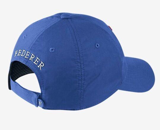 NEW NEW NEW Nike Hybrid RF Roger Federer Hat 371202-480 Game Royal Cap 204e85