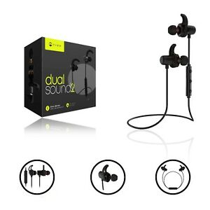 7add0bef938 Image is loading Paww-DualSound-2-Headphones-Sweatproof-Neck-Band-Bluetooth-