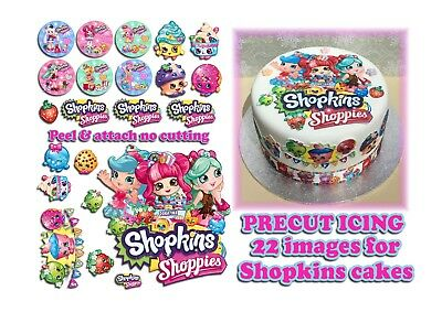 "Shopkins Ribbon 1/"" Wide NEW UK SELLER FREE P/&P"