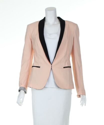 RAG & BONE Pink And Black Blazer Jacket, UK 6 US … - image 1