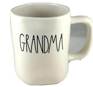 Rae-Dunn-By-Magenta-GRANDMA-Ivory-Mug-Coffee-Tea-Cup-Ceramic-New-Farmhouse
