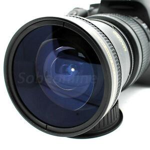 0.17x Ultra Fisheye Macro LENS for NIKON Nikkor AF-S 50mm f/1.8G Lens / DSLR