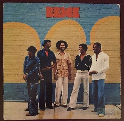 Brick Self Titled LP Vinyl Record 1977 Bang Records BLP-409 R&B Soul, Good