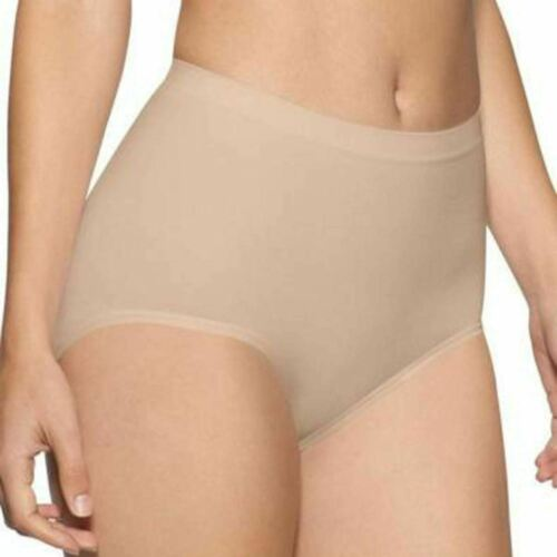 Womens Cotton Seamless Control Maxi Brief Knicker Underwear All Sizes Ladies