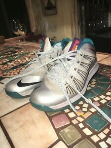 low priced ad2f9 8a1cf Image is loading Nike-Lebron-10-X-Akron-Aeros-Size-12