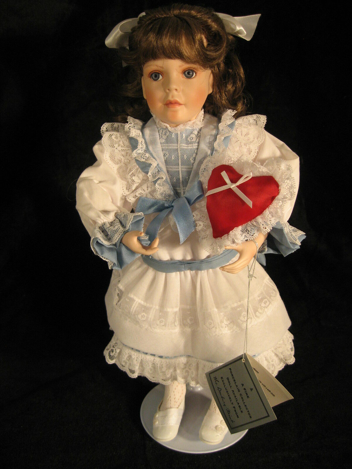 Porcelain Collector Doll   Christina  by Jan Garnett  from the Danbury Mint 1994