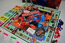 Spiderman Monopoly Board Game Complete Marvel Parker Brothers Tokens 2006