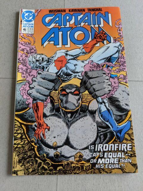 Captain Atom #45 September 1990 DC Comics