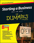 Starting a Business All-in-One For Dummies by Consumer Dummies (Paperback, 2015)