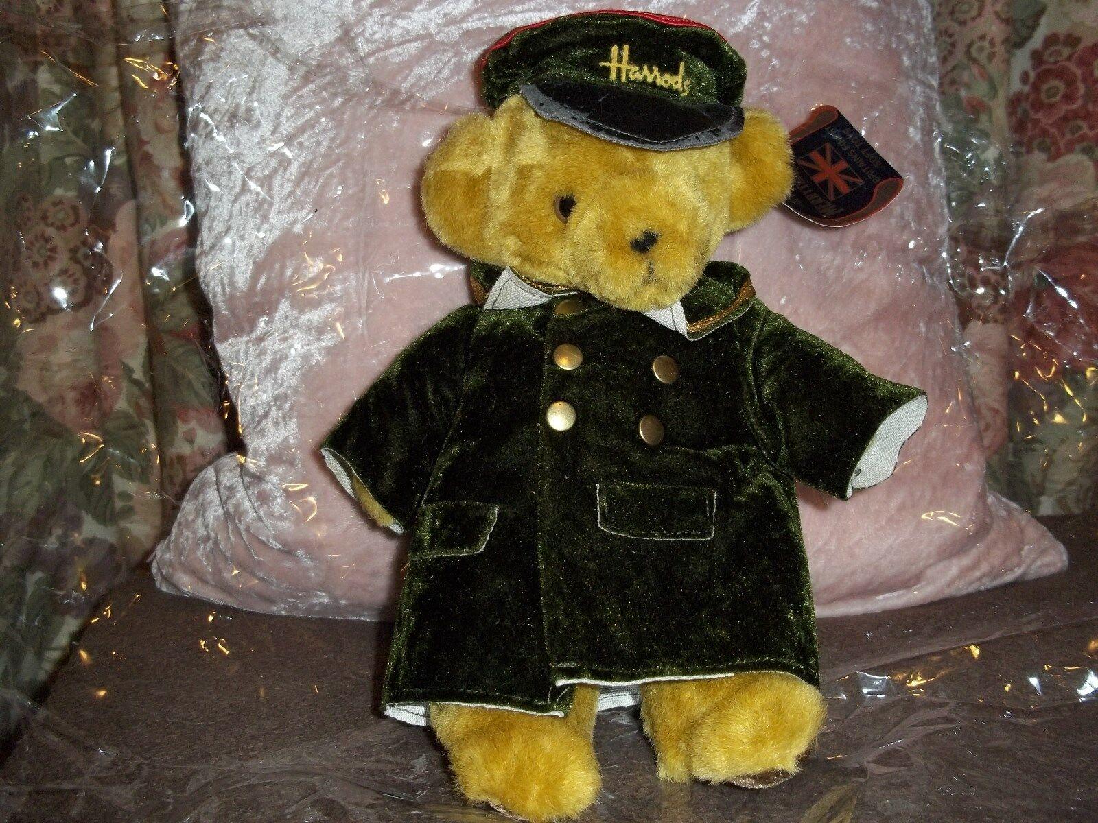 VINTAGE Merry Thought Esclusiva Harrods PORTIERE Teddy Bear
