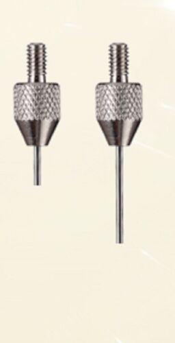 needle tip probe  indicator 2pcs M2.5 tungsten steel flat head Dial gauge probe