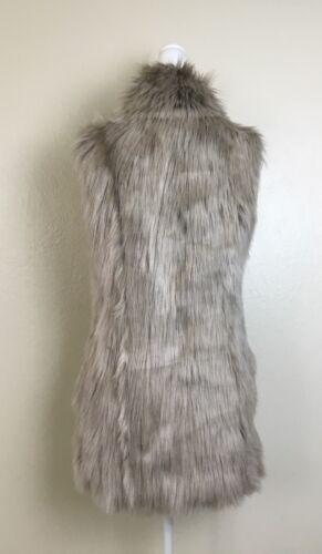 donna pelliccia sintetica di Basic Zara Gilet t0wF5xqSnw