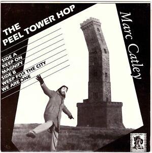 """MARC CATLEY The Peel Tower Hop 7"""" EP w/Geoff Mann – Xian SSW/Folk Rock, 4 Tracks"""