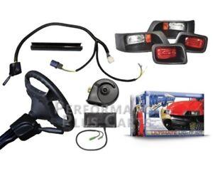 Details About Ezgo Txt 1995 2017 Golf Cart Headlight Kit Turn Signals Brake Lights Horn