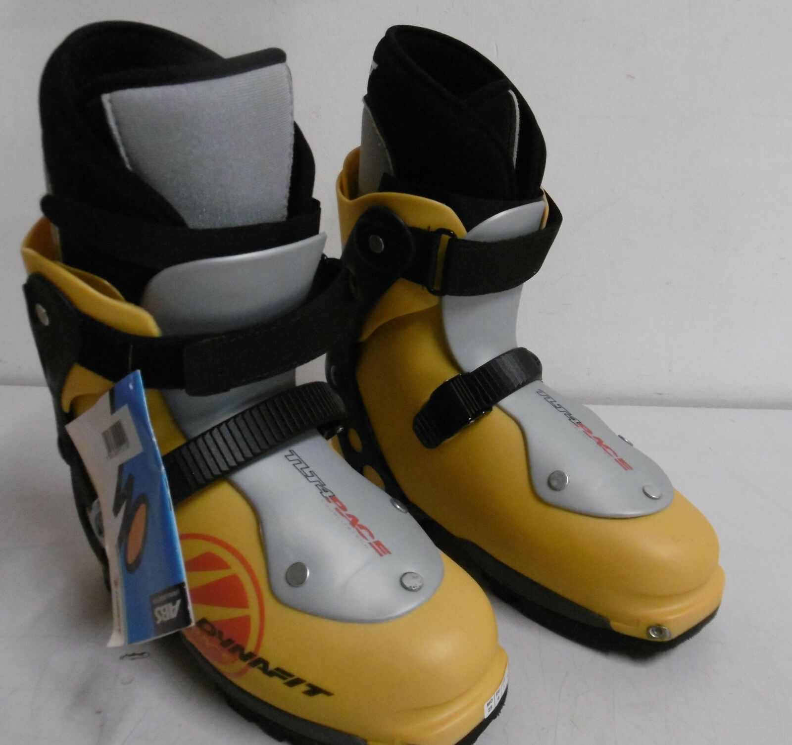 Dynafit TLT 4 Race Skitourenschuh 25.0 Skischuh Tourenschuh Free-Ride gelb grau
