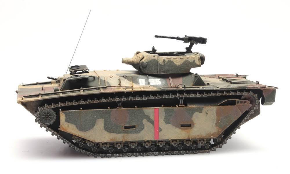 Artitec 6870163 us LVT a4 Iwo Jima Landing vehicle h0 terminado en 1 87 tanques modelo