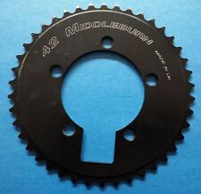 Middleburn 5 arm 94 pcd 42 tooth Solid Chain Ring S/Speed DH Track Fixie Black