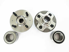 2 Front Wheel Hub & 2 Front Wheel Bearing Set Honda Civic Si / SiR 2.0L.  02-03