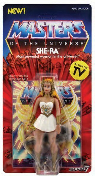 MASTERS OF THE UNIVERSE THE VINTAGE COLLECTION SHE-RA ACTION FIGURE PLACE HOLDER