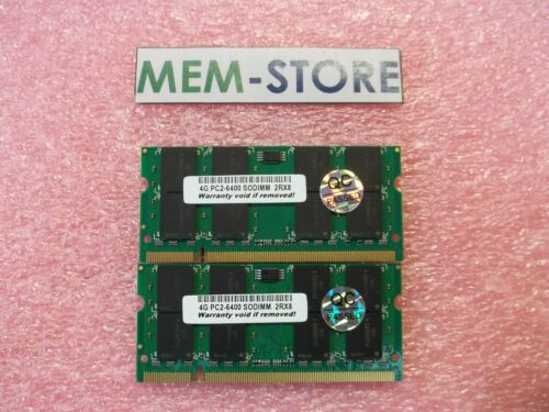 VGN-BZ11XN VGN-BZ11MN 8GB 2x4GB PC2-6400 SODIMM Memory Sony Vaio VGN-BZ11EN