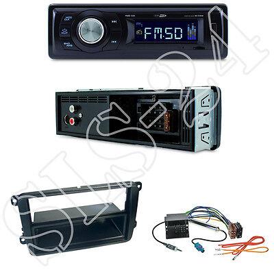 VW Touran t5 Multivan diafragma Quadlock ISO adapterset Kenwood kmm-205 USB radio