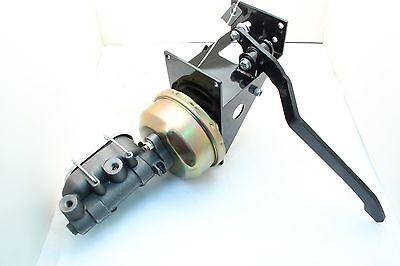 Universal 90 Degree Under Dash Manual Brake Pedal /& Master Cylinder Kit